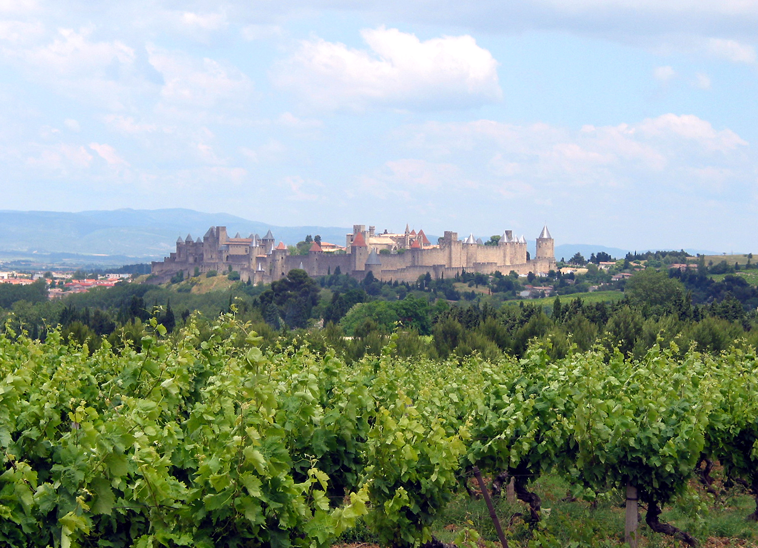 Good people of Languedoc - Carcassonne, pays de cathars