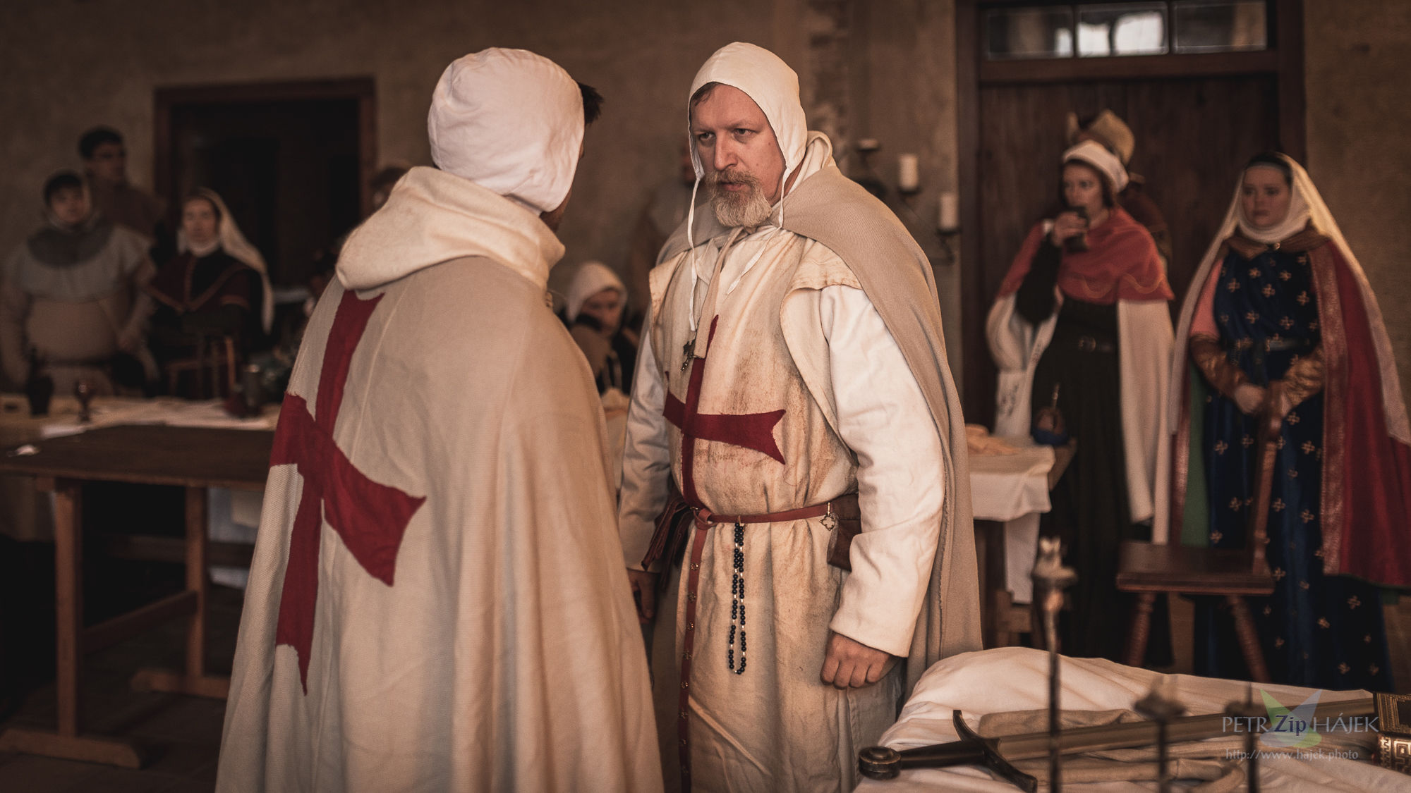 During the Good people of the Languedok roleplay game - larp - you will meet several Templars