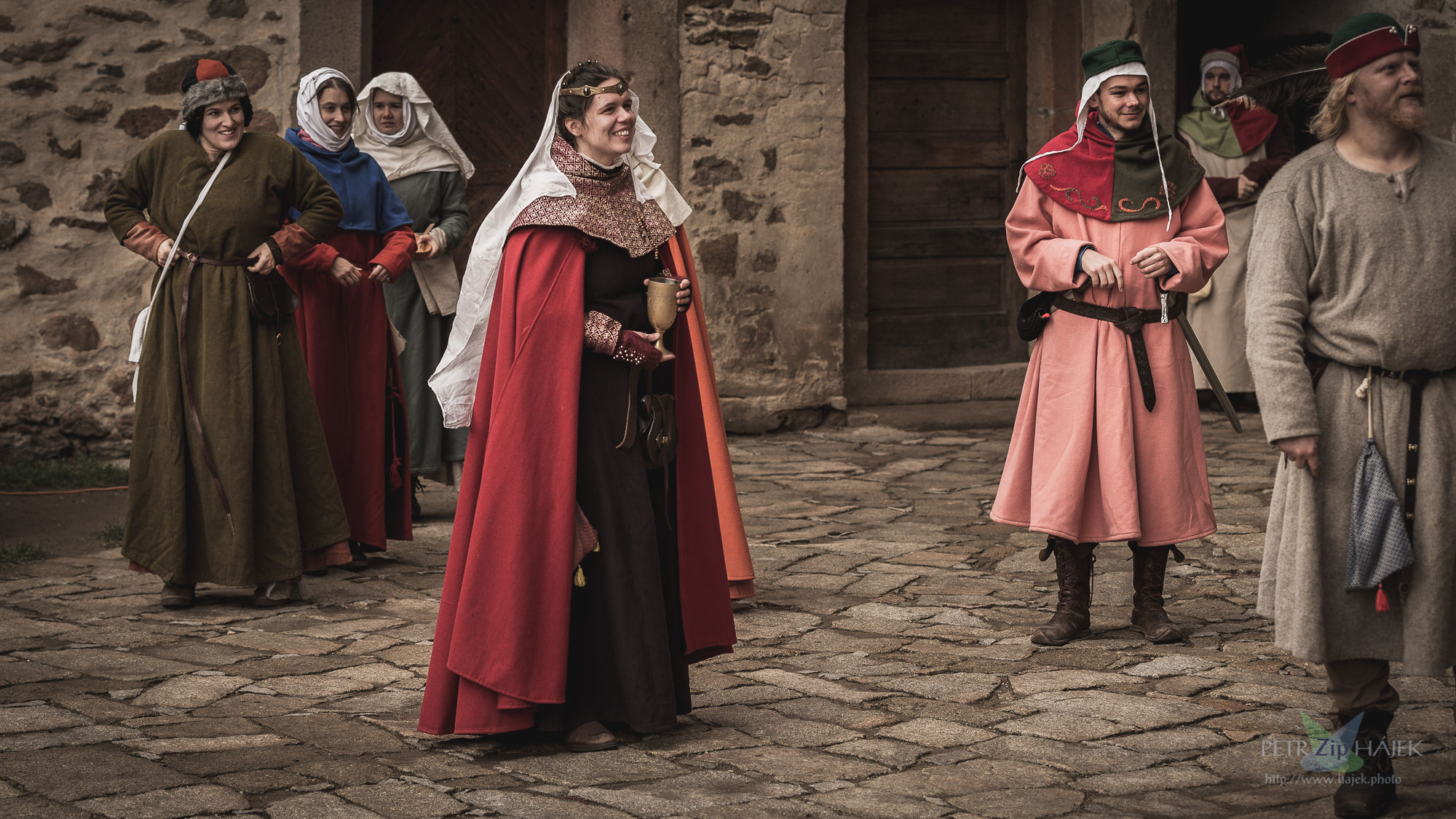 Larp Good people can be spent in an authentic medieval castle in the Czech Highlands