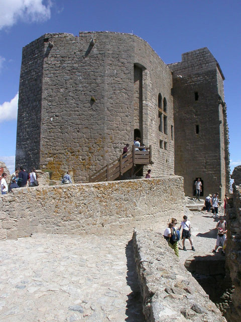 Queribus - the last bastion of cathars resistance, a castle they left only in 1255, 11 years after the fall of Monstegur
